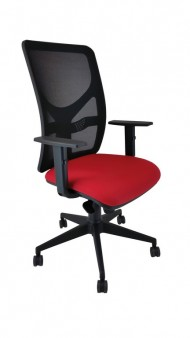 Silla-ergonomica-Neraiker-Black-red